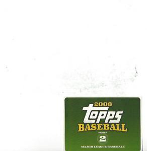 2008 Topps Baseball Series 2 Set Sticker Unused Free Shipping