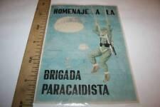 2 HOMENAJE A BRIGADA PARACAIDISTA, CUPONES DE RACIONAMIENTO,ALCALA DE HENAR 1941