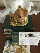 LILLIPUT LANE British Collection 2002 FAIRY CAKE Tearoom #L2546 deed NEW RARE
