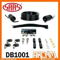 SAAS 4WD DIFF BREATHER KIT 4 Port FOR NISSAN NAVARA D40 2006-2015 All DB1001