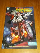 BACK TO THE FUTURE CITIZEN BROWN #1 IDW COMICS NM (9.4)