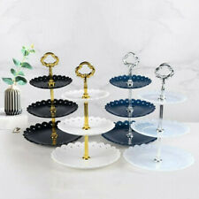 3 Tier Cake Stand Afternoon Tea Wedding Party Tableware Cupcake Dessert Holder
