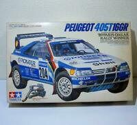 TAMIYA 1/24 PEUGEOT 405T16GR  89 paris vintage model kit