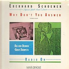"Eberhard Schoener Why don't you answer (1985, & Hazel O'Connor) [Maxi 12""]"