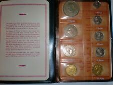 "-INDIA- 9 COIN PROOF SET-""M.GANDHI BIRTH CENTENARY""-1969-RS.10,1+PAISE 50,20,10+"