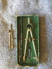 Vintage Professional (Scientific) Bow Compass & Pen Set - Minusa
