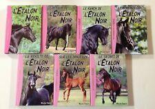7 livres L'ETALON NOIR Bibliothèque rose  LIVRE enfant