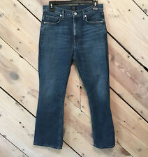 Citizens Of Humanity Size 28 Demy Cropped Flare Jeans Medium/Light Wash