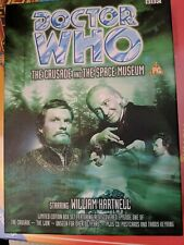 Doctor Who The Crusade And The Space Museum VHS Box Set With CD And Keyring