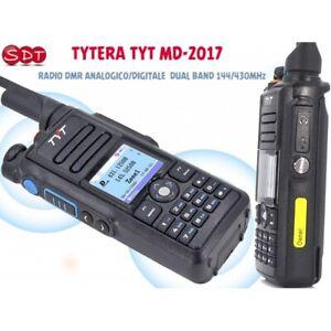 Tytera TYT MD-2017 Radio Dmr Analogique / Numérique Double Bande 144/430MHz