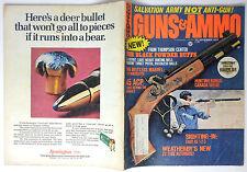 Vintage Magazine GUNS & AMMO November 1973 Ruger 10 22 Browning B-SS Colt Army