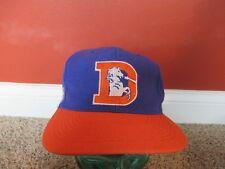 DENVER BRONCOS NFL VINTAGE snapback  AMERICAN NEEDLE CAP HAT blue/orange