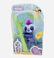Fingerlings Baby Sloth Purple Toy - NEW
