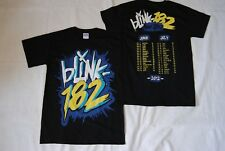 BLINK 182 GRAFFITI LOGO EUROPEAN TOUR 2012 T SHIRT NEW OFFICIAL RARE ENEMA OF