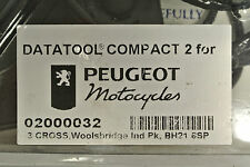 Genuine Peugeot Datatool Alarm System for All Scooter 98 Onwards PE02000032