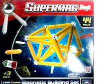 Plastwood - Supermag Maxi One Color Gioco di costruzioni magnetico 44 (t1w)