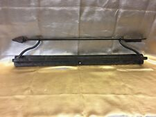 "Custom Hand Made Southwest Rustic Bronze 24"" Wrought Iron Towel Bar Rack"