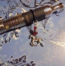 Horse Red Crystal Vape Charm~Vapor Charm E Cig~((Buy 2=Get 1 Free))