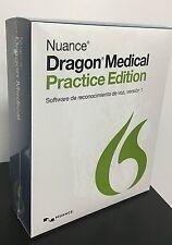 DRAGON MEDICAL Practice Edition (Español) - Ideal para Medicos/Radiologos