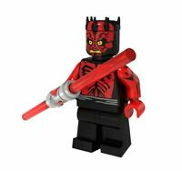 STAR WARS DARTH MAUL CUSTOM MINIFIGURE FITS LEGO