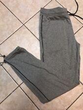 Armani Exchange Men Signature Logo Track Grey Sweatpant M Short NWT