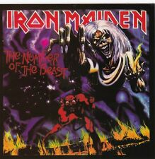 IRON MAIDEN - THE NUMBER OF THE BEAST - STICKER