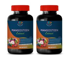 digestive supplement - MANGOSTEEN Extract - body detox cleansers - 2 Bottles