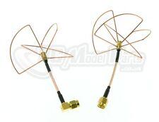2.4Ghz FPV Antenna Set 2.4G Skew Planar Clover RP-SMA ImmersionRC UK Seller
