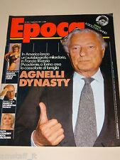 EPOCA=1987/1910=GIANNI AGNELLI=AMANDA LEAR=FRANCO PIGA=MAGUY MARIN=P.D. JAMES=