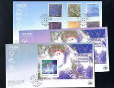 China Hong Kong 2014 FDC CPA Weather Phenomena Typhoon Stamp