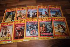 10x John Kirby -- 10 Western // Selvaggio West // Wilder Occidente romanzi