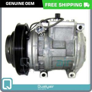 AC Compressor OEM Denso 10PA15C fits Geo Prizm / Toyota Corolla QR