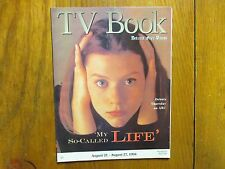 New listing Aug. 21-1994 Detroit Free Press Tv Book/Magazine(Claire Danes/My So-Called Life)