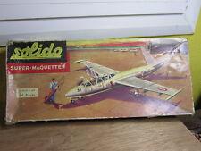 EMPTY BOX BOITE VIDE MAQUETTE SOLIDO 1/60 FOUGA MAGISTER CM 170