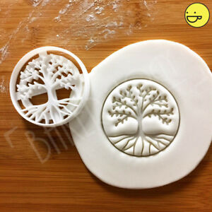 Tree of Life cookie cutter | trees philosophy nature evolution celtic biscuit