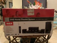 RCA DVD Home Theater System with HDMI 1080p Output | 130 Watts | Surround Sound