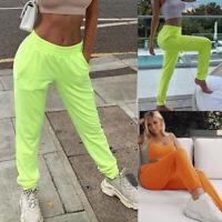 Damen Jogginghose Freizeithose Sporthose Elastisch Trainingshose Fitness Hosen