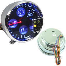 "5"" DIGITAL LED 4 IN 1 TACHO WATER TEMP VOLT VOLTAGE OIL PRESS PRESSURE GAUGE"