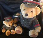 "NEW Harrods Knightsbridge London Plush Teddy Bear 10 inch  5"" Sitting DOORMAN"