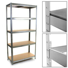 5 Tier Racking Heavy Duty Shelf Warehouse Garage Shelving Storage 180x90x40cm