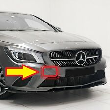 NEW GENUINE MERCEDES BENZ MB CLA W117 FRONT BUMPER TOW HOOK EYE COVER PRIMED