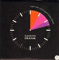 """NANETTE FRANK can't be your part-time lover/instrumental TOCO 12 uk 7"""" PS EX/EX"""
