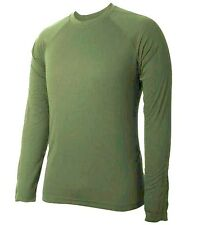 GENTS BASE LAYER T-SHIRT Mens olive XXL cold weather 4 season technical top