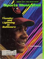 1969 Sports Illustrated baseball magazine Frank Robinson, Baltimore Orioles FAIR