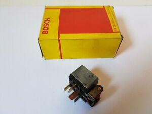 Bosch 0332014405 Relais 12V 16A Oldtimer VW Audi Elektrik Steuergerät Original