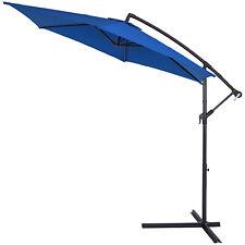 Deuba 102558 3.5m Garden Parasol - Blue