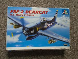 Italeri  1/48  F8F-2 Bearcat US Navy Fighter