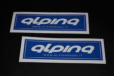 ALP003 Alpina Sticker Aufkleber Rennrad Racer Mountainbike Enduro Downhill