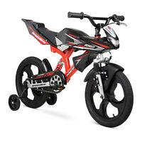 """Kids Speed Bike 16"""" Moto Motorcycle Boys Girl Kid Child Children Toddler Bicycle"""