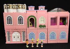 Polly Pocket mini 💛 1999 Stapelhaus Deluxe Manoir Dream pratiques Nursery Disco